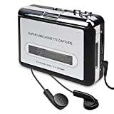 Best Cassettes To Mp3s - Cassette Player, Walkman Cassette Tape Player Captures Portable Review