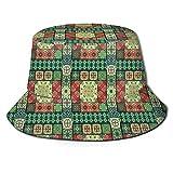 Cubo Sombreros Azulejo Portugués Azulejo Azulejo Cerámica Talavera Estilo Tradicional Cultura Europea Motivos Casual Cubo Sombrero para Sol Protección