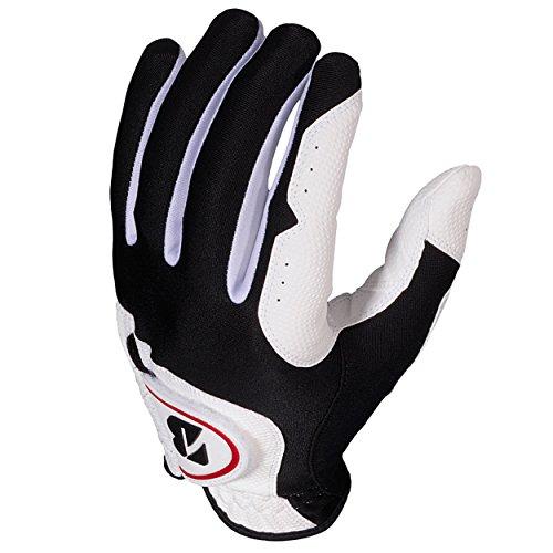 Bridgestone EZ Fit White Golf Gloves (3-Pack), Men