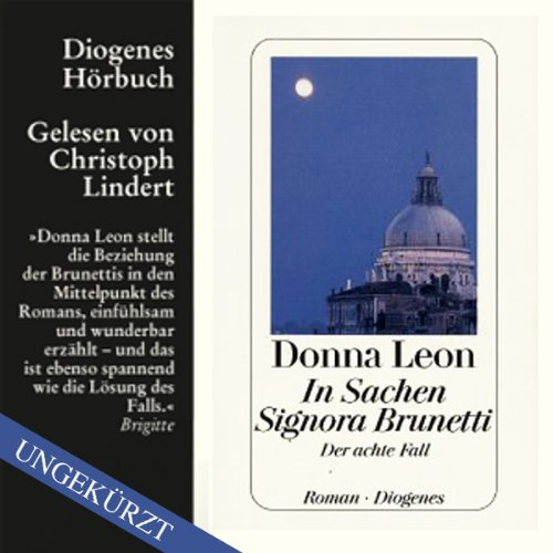 In Sachen Signora Brunetti audiobook cover art