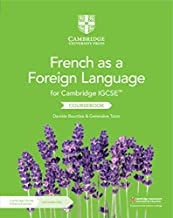 Cambridge IGCSE(TM) French as a Foreign Language Coursebook with Audio CDs (2) and Cambridge Elevate Enhanced Edition (2 Years) (Cambridge International IGCSE) (French Edition)