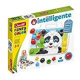 Quercetti 4206 Pixel Junior Basic-Steckspiel, Farbspiel, Multicolor -