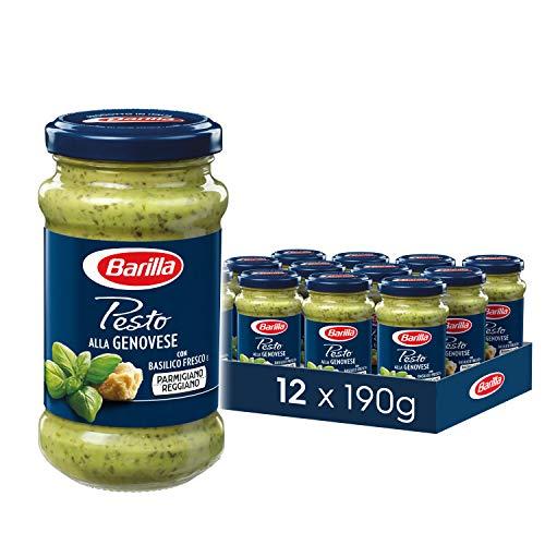 Barilla Pesto alla Genovese – 12er Pack (12 x 190g)