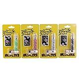 GYQCP Metallo Tabacco per Pipa, Filtri Pipa Pipa per Tabacco Portatile Macinacaffè alla Vaniglia Maglia Filtrante Set Pipa Creativo Accessori per Fumatori Sigari Tubo di Fumo