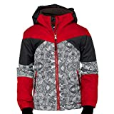 Arctix Boys Ronan Insulated Winter Jacket, Vintage Red, Large