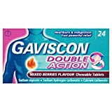 Gaviscon Double Action Tablets Mixed Berries, Pack of 24