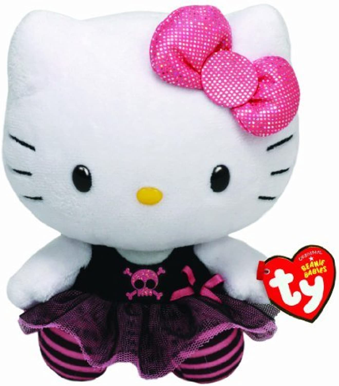 Ty 6inch Hello Kitty Punk Beanie by Ty Hello Kitty