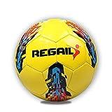 Balón de fútbol de entrenamiento para niños | Balón de fútbol de cuero PU talla 5 | Equipo de entrenamiento de fútbol con licencia oficial para niños Ideal para los amantes del fútbol Idea de regalo