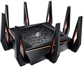 ASUS Rapture GT-AX11000 Tri-Band 10 Gigabit WiFi Router (RENEWED)