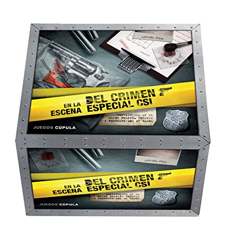 En la escena del crimen. Especial CSI: Conviértete en el mejor policía forense y resuelve los 25 casos (Juegos Cúpula)