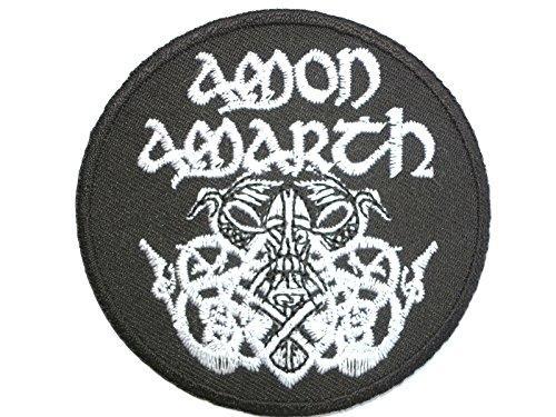 AMON AMARTH Iron On Sew On patch strijkafbeelding geborduurd patch 2.9