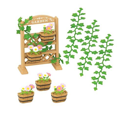 Sylvanian Families - 5224 - Set decoración de jardín