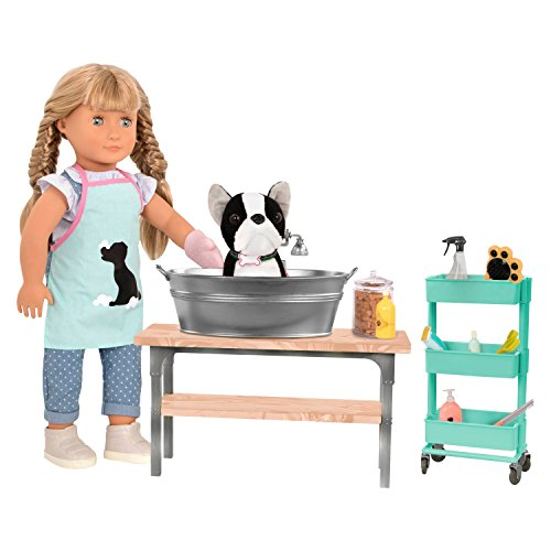 Our Generation Pet Grooming Salon Accessory Set for 18u0022 Dolls