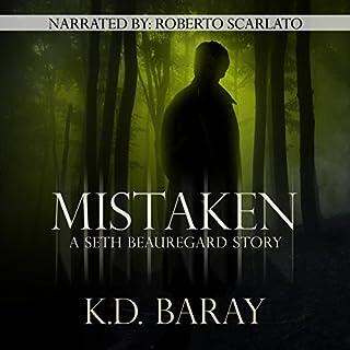 Mistaken audiobook cover art