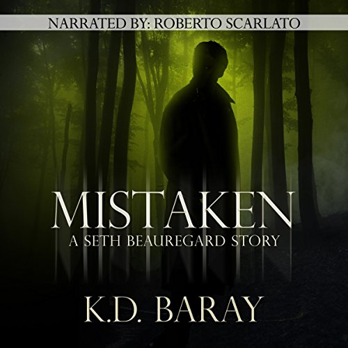 Mistaken audiobook cover art
