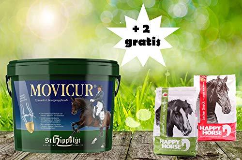 St. Hippolyt Movicur 10 kg und wir schenken Ihrem Pferd 2 x 1 kg Happy Horse Lecker Snacks