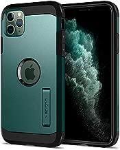 Spigen Tough Armor Designed for iPhone 11 Pro Max Case (2019) - XP Midnight Green