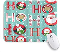 マウスパッド クリスマススノーフレークサンタクロースだるまペンギンおかしい ゲーミング オフィス おしゃれ がい りめゴム ゲーミングなど ノートブックコンピュータマウスマット