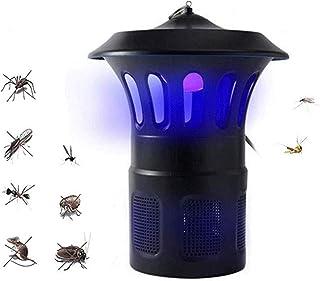YOLL LED Tipo de inhalación de Control de la luz Interior para el hogar del Asesino Mosquitos Inteligente fotocatalizador led Captura Repelente USB,Repelente de Mosquitos de Interior y Exterior