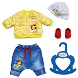 Zapf Creation 827918 BABY born Little Cool Kids Outfit Puppenkleidung 36 cm, bunt