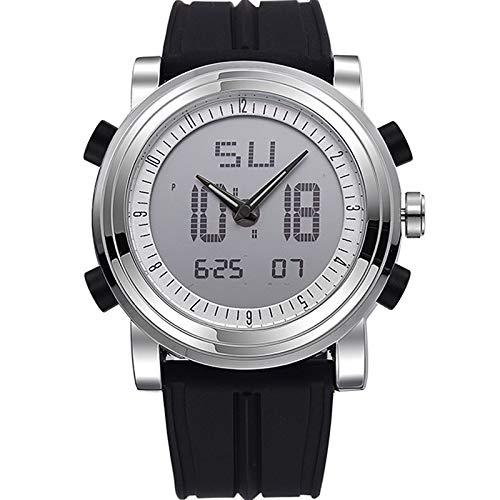 Nuovo marchio SINOBI Cronografo sportivo Orologi da polso da uomo Quarzo digitale Doppio movimento Impermeabile Orologio da polso Orologio da uomo