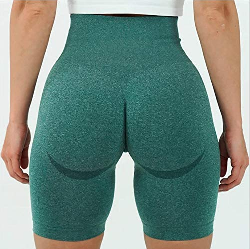 Leggings No Transparenta Cintura Alta,Shorts Deportivos de Secado rápido;Pantalones de Yoga moldeadores de Cintura Alta-Ink_S,Alta Pilates Fitness Mujer Gym Yoga Pantalon
