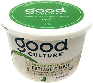 Good Culture, Cottage Cheese Double Cream 6 Percent Organic, 16 Ounce