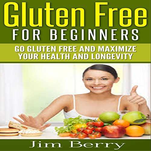 Gluten Free for Beginners audiobook cover art