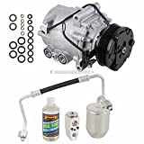 Saturn Vue A/C Compressors & Components - AC Compressor & A/C Kit For Saturn Vue 3.5L V6 2006 2007 - Includes Drier Filter, Expansion Valve, PAG Oil & O-Rings - BuyAutoParts 60-81286RK New