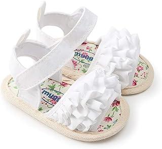 d77656b06b73a WINER Infant Baby Girls Cute Sandals Soft Sole Summer Princess Dress  Bowknot First Walker Shoes
