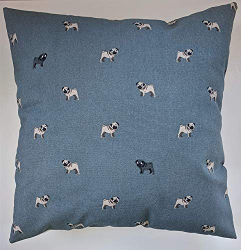Cushion Cover in Sophie Allport Pugs 14' 16' 18' 20' 22' 24'
