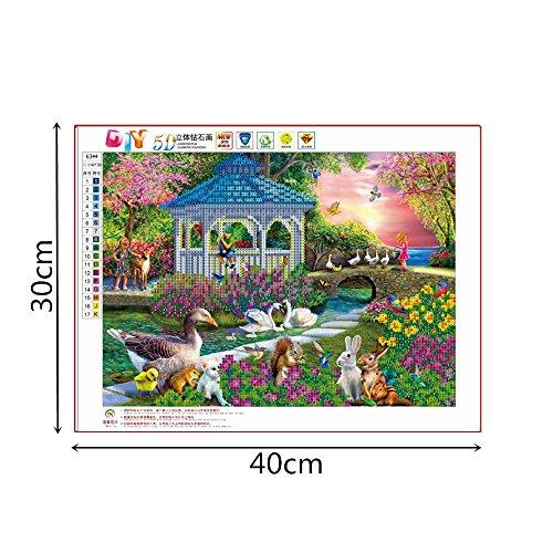 Fasclot 5D DIY Cross Stitch Diamond Religion Leader Icon Diamond Mosaic True Rhinestone Home & Garden Home Decor