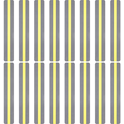 16 Pieces Yellow Highlight Strips Guided Reading Strips Colored Overlays for Focus Reading Beginner