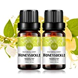 2-Pack Honeysuckle Essential Oil 100% Pure Oganic Plant Natrual Flower Essential Oil for Diffuser Message Skin Care Sleep - 2x10ML