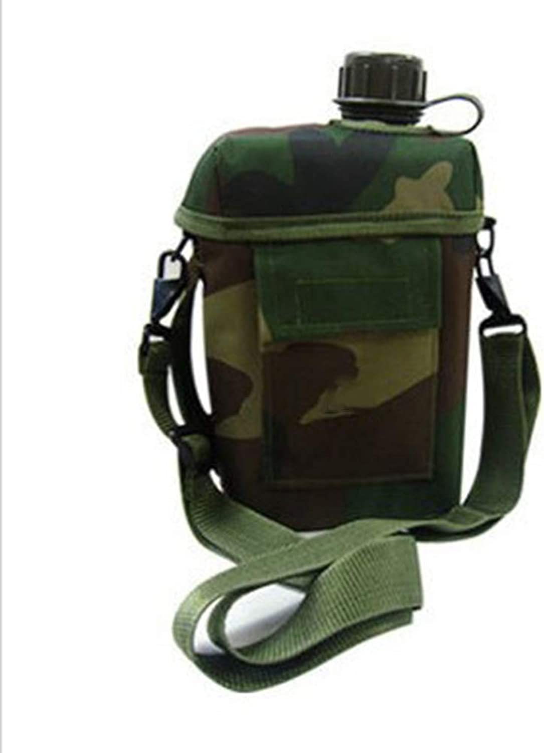 Outdoor Travel Camouflage Sports Bottle, Travel PVC Kettle (2.0L)
