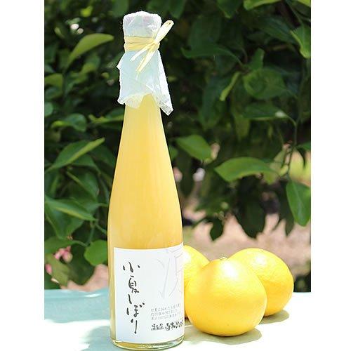 KJ100-01 土佐文旦果汁100%無添加「小夏しぼり」 1本入り