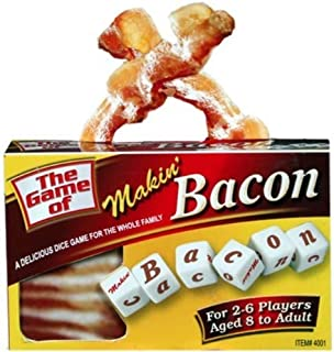 TDC Games Makin' Bacon Dice Game