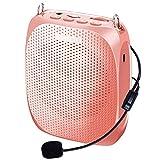 Portable Voice Amplifier SHIDU FM Radio Wired...