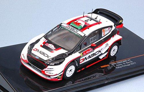 FORD FIESTA WRC N.3 6th RALLY PORTUGAL 2017 EVANS-BARRITT 1:43 - Ixo Model - Auto Rally - Die Cast - Modellino