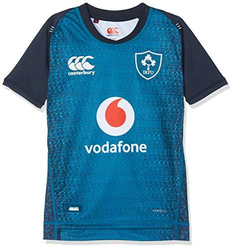 Canterbury Offizielles Rugby-Trikot von Neuseeland, für Kinder, 18/19, Marokkanisches Blau, Größe 38