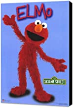Sesame Street 11 x 17 TV Poster - Style C - Museum Wrapped Canvas