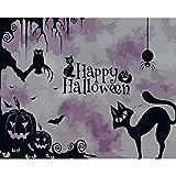 ERTOQ Peindre par Nombre Fond d'écran Halloween Adultes et EnfantsToile Brosses et peintures...