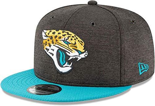 New Era NFL Jacksonville Jaguars Authentic 2018 Sideline 9FIFTY Snapback Home Cap, Größe :S/M