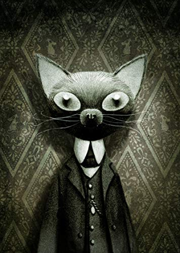 Le carnet de notes chat, de benjamin lacombe (Album jeunesse)