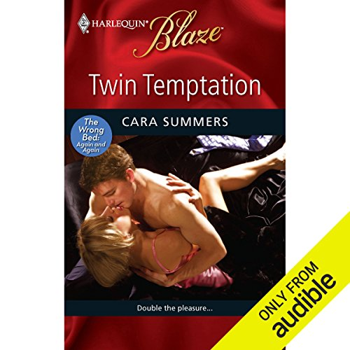 Twin Temptation  audiobook cover art