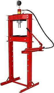 Wimmer Werkstattpresse mit eingebaute Handpumpe und mit Manometer 20 T   SP20 1