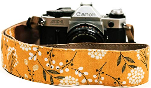 Spring Blossom Flowers Camera Shoulder Strap Belt For All DSLR Camera – Vibrant Design Universal DSLR Strap, Multi Color Neck Belt Best Stocking Stuffer Christmas Gift for Men & Women Photographers