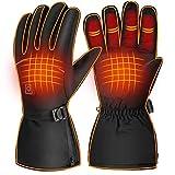 NCONCO Guantes de invierno calentados a pilas calentadores de mano guantes de motocicleta guantes de calor para esquí al aire libre senderismo