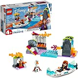 LEGO Disney Frozen II Anna's Canoe Expedition 41165 Frozen Adventure Building Kit (108 Pieces)