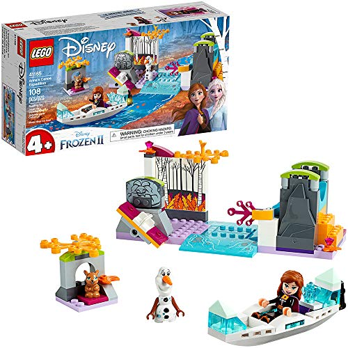 LEGO Disney Frozen II 41165 Anna's Canoe Expedition 108 Piece Building Kit
